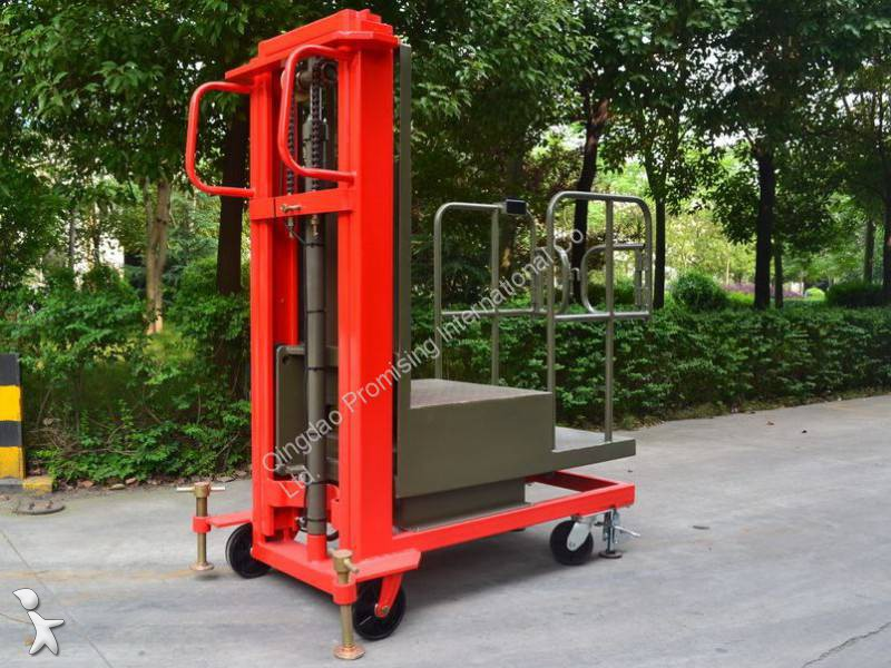 Zobaczyć zdjęcia Wózek widłowy magazynowy Dragon Machinery TH03-30