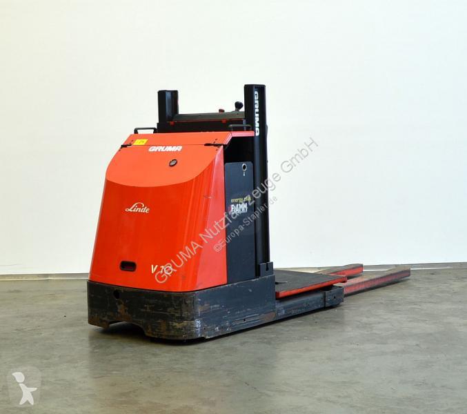 Zobaczyć zdjęcia Wózek widłowy magazynowy Linde V 10/015