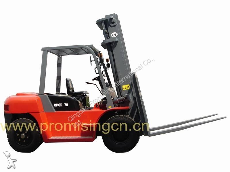 Zobaczyć zdjęcia Wózek widłowy magazynowy Dragon Machinery CPCD70