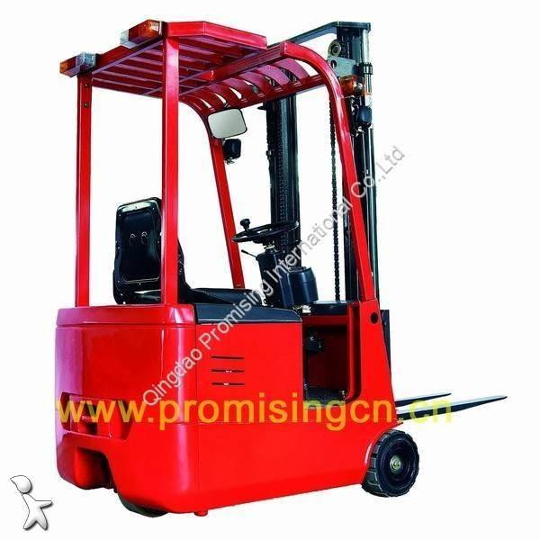 Prohlédnout fotografie Příprava objednávek Dragon Machinery TKA10 3-Wheel Counterbalanced Electric Forklift Truck