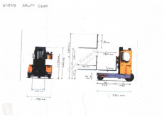 Zobraziť fotky Štvorcestný vysokozdvižný vozík Amlift C3000