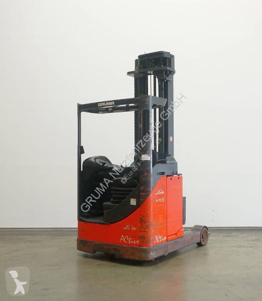 Zobaczyć zdjęcia Wózek z wysuwanym masztem Linde R 16 S/115-03
