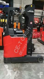 chariot à mât rétractable Linde R14-01 // HH 5.295 mm / FH 1.400 mm / Seitenschieber / Triplex / guter Zustand