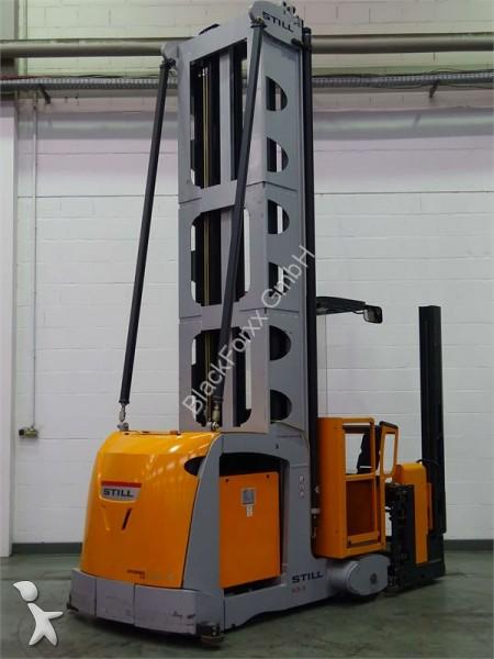 Carretilla de carga lateral still mx xte usada n 1782375 - Carretillas de carga ...