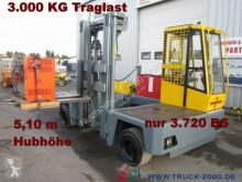 Baumann EHX 30/14/51 Seitenstapler Hubhöhe 5.10m 3.000KG side loader