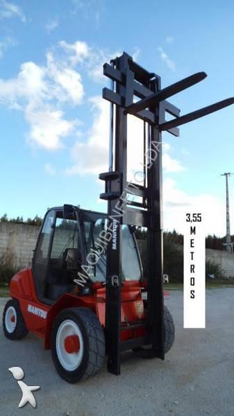 Carretilla de carga lateral usada manitou nc msi 40 di sel - Carretillas de carga ...