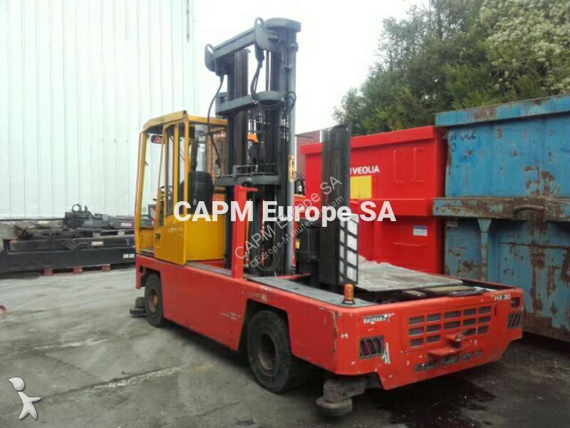 Carretilla de carga lateral baumann hx30 14 7200 usada n - Carretillas de carga ...