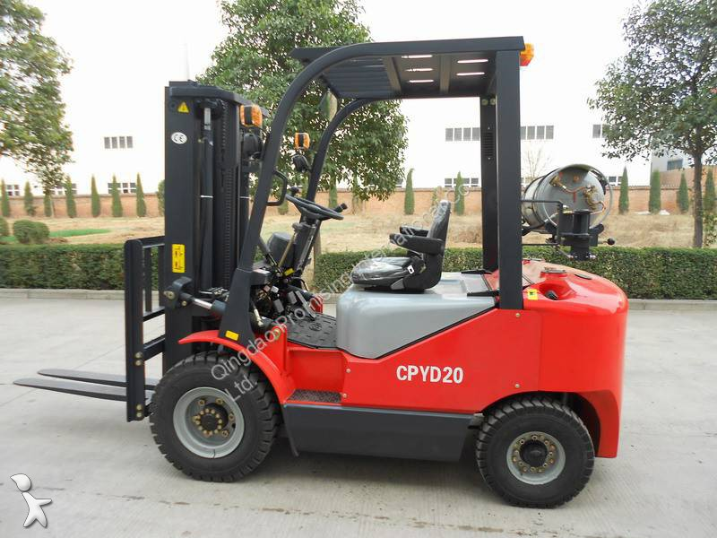 View images Dragon Machinery CPYD20 Forklift