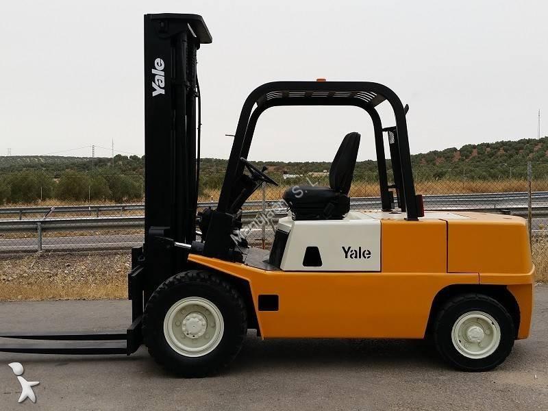 Carretilla diesel Yale usada