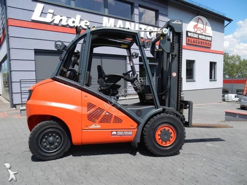 Heftruck Linde H50T Side shift