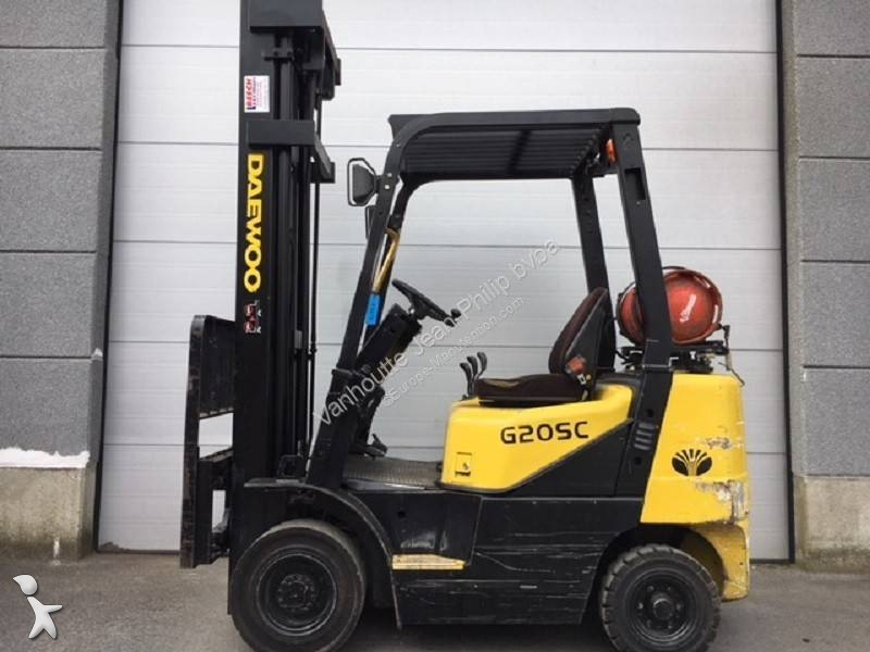 Used Daewoo gas forklift G20S - n°2674314