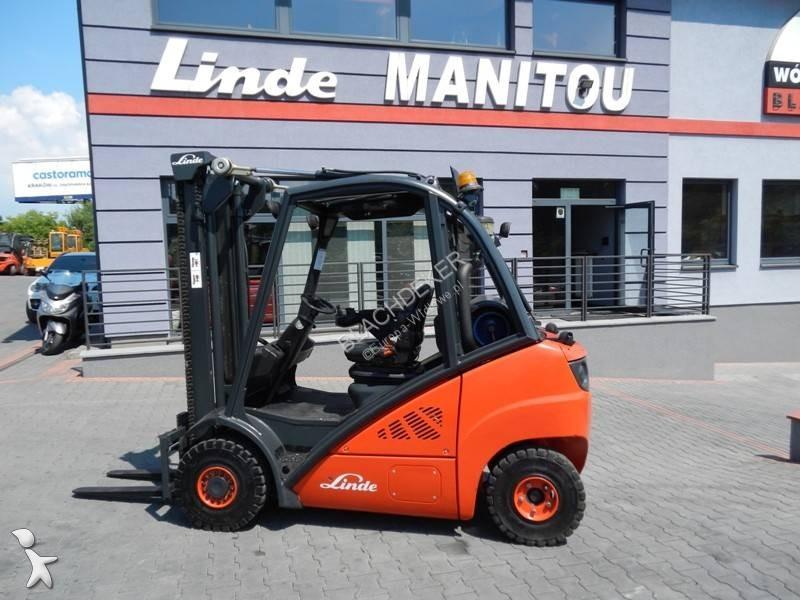 Chariot élévateur Linde H25T Side shift
