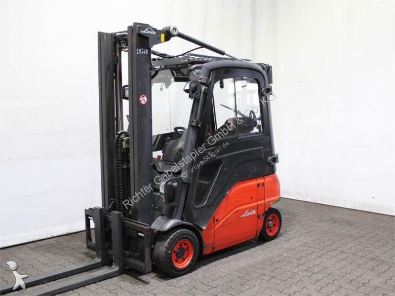 Linde E 16 P-01 386 Forklift