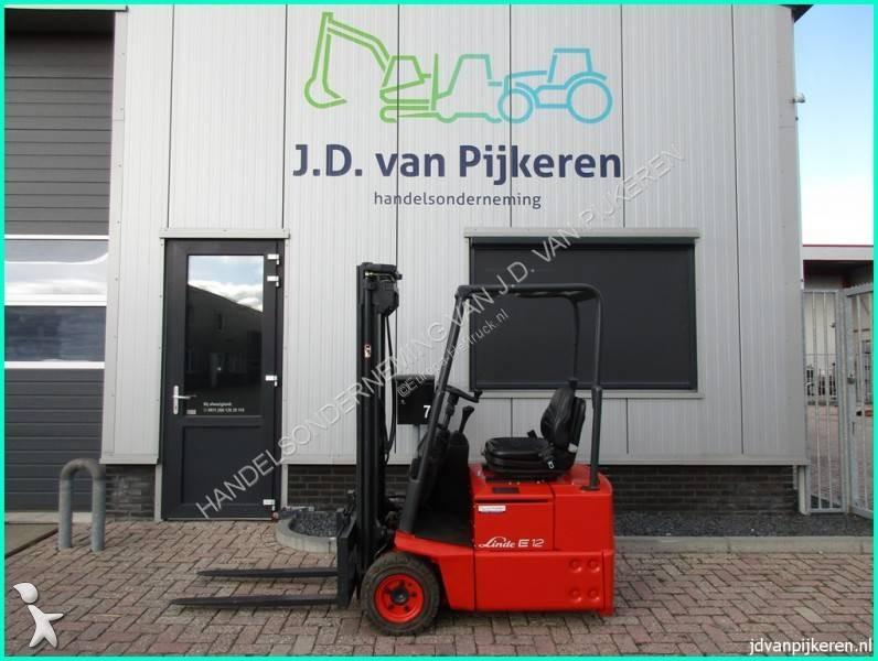 Linde E12Z-02 324 freelift sideshift TUV 2007! Forklift