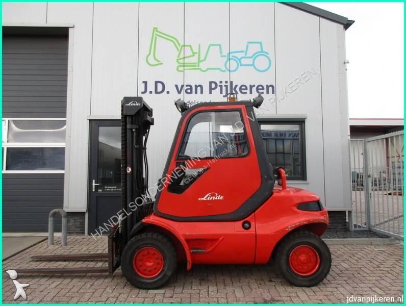 Linde H45D diesel triplex freelift 4x hydrauliek Forklift