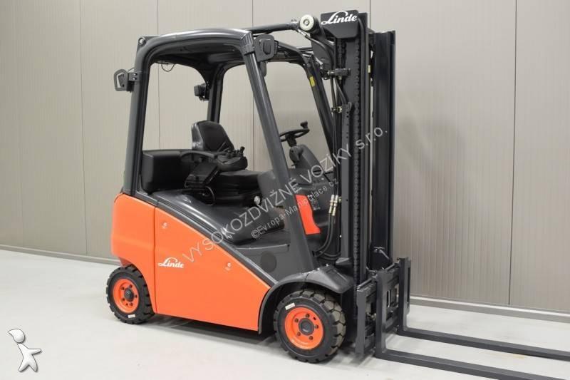 Linde H 14 T-01 /23399/ Forklift