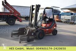Linde H30D Dieselstapler mit Ballenklammer und Zusatzh