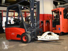 Linde E 18-01// HH 3.200 mm / FH 1.620 mm / Duplex / Seitenschieber Forklift