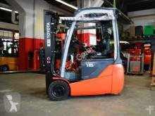 Toyota 8FBEKT16 // 1.453 Std. / Seitenschieber / Zinkenverstellgerät / HH 3.000 mm / FH 1.420 mm / Duplex / Containerfähig Forklift