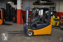 Jungheinrich EFG 218 // Seitenschieber / 3. Ventil / Batt. Bj. 2014 / Containerfähig / HH 3.000 mm / FH 1.470 mm / Duplex Forklift