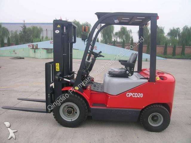 Zobraziť fotky Vysokozdvižný vozík Dragon Loader CPCD20