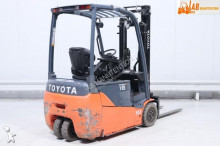 electric forklift used Toyota 8FBET16 - Ad n°2920380 - Picture 2