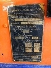 View images Fenwick ELV 10583 Forklift
