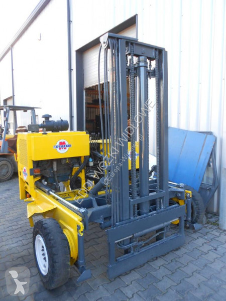View images Moffett M2403W jak Palfinger lorry mounted forklift