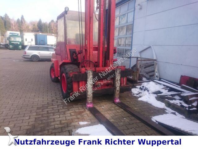 Chariot tout terrain O&K A41,GeländestaplerWerkstattge.,5TSeitenschieb.