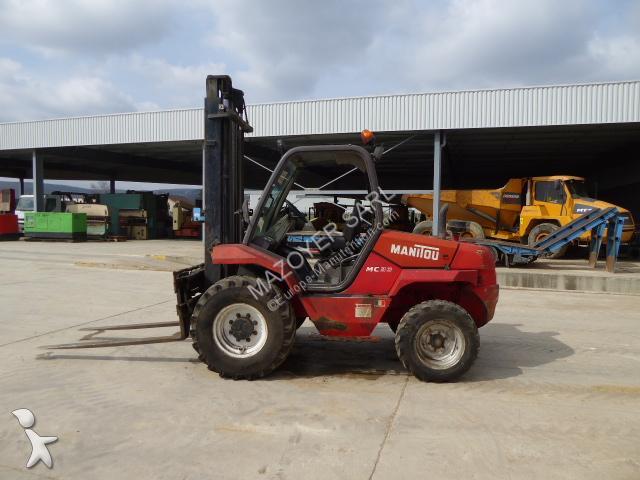 Chariot tout terrain Manitou MC30
