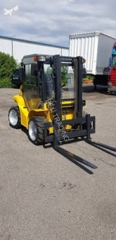 Mast all-terrain forklift