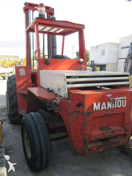 Used Manitou All Terrain Forklift Mb26n Diesel N 176 1893041