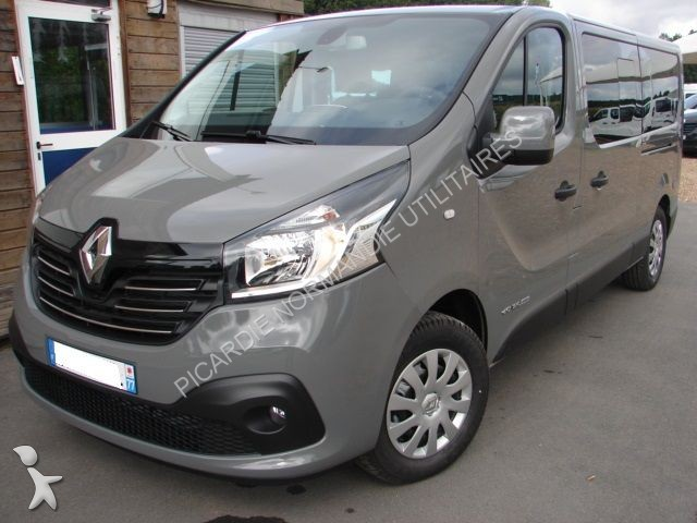 minibus renault trafic combi l2h1 1 6 dci 120 intens 9 places gazoil occasion n 1356614. Black Bedroom Furniture Sets. Home Design Ideas