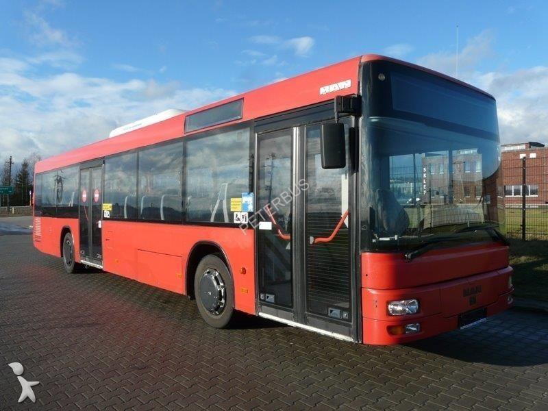 autobus man interurbain a20 gazoil euro 2 occasion n 1640596. Black Bedroom Furniture Sets. Home Design Ideas