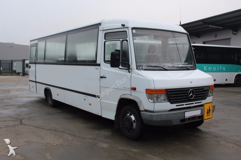 minibus mercedes o 814 vario gazoil euro 3 occasion n 1856286. Black Bedroom Furniture Sets. Home Design Ideas