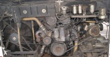 autobus pièces Mercedes