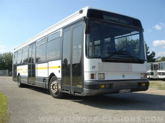 autobus renault interurbain r312 gazoil occasionmasculinsingulier n 20063. Black Bedroom Furniture Sets. Home Design Ideas