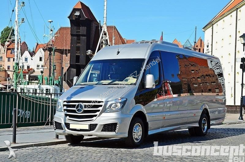 minibus mercedes sprinter 519 xxl 18 21 places liner gazoil euro 6 neuf n 2058087. Black Bedroom Furniture Sets. Home Design Ideas