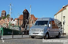 Mercedes Sprinter 519 19+1+1 Schuttle