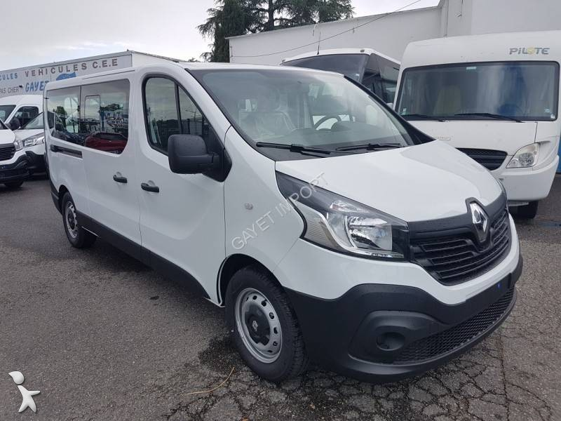 minibus renault trafic 9 places dci 125 ch l2h1 gps gazoil euro 6 neuf n 2059409. Black Bedroom Furniture Sets. Home Design Ideas