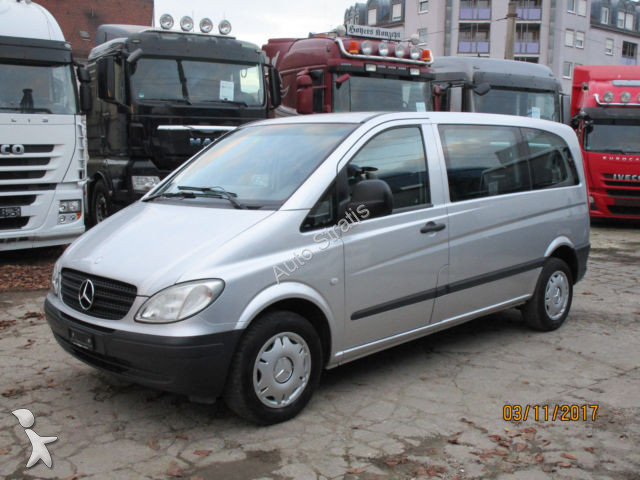 minibus mercedes vito 111 cdi kompakt klima 9 sitzer gazoil euro 4 occasion n 2315643. Black Bedroom Furniture Sets. Home Design Ideas