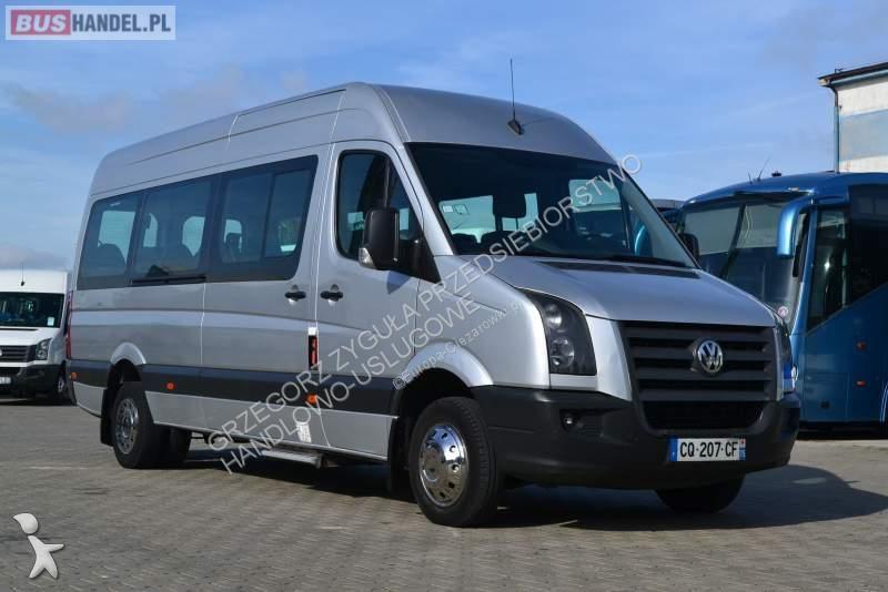 minibus volkswagen crafter sprowadzony 20 miejsc. Black Bedroom Furniture Sets. Home Design Ideas