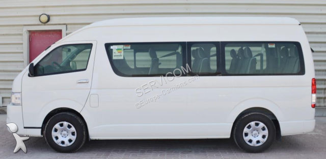 midibus neuf toyota hiace 13 seats 2 5dl high roof new mod 2017 gazoil annonce n 2499856. Black Bedroom Furniture Sets. Home Design Ideas