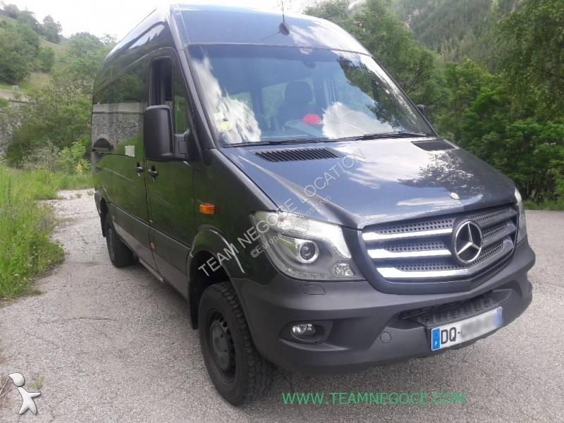 Autobus Mercedes 9 places 4x4