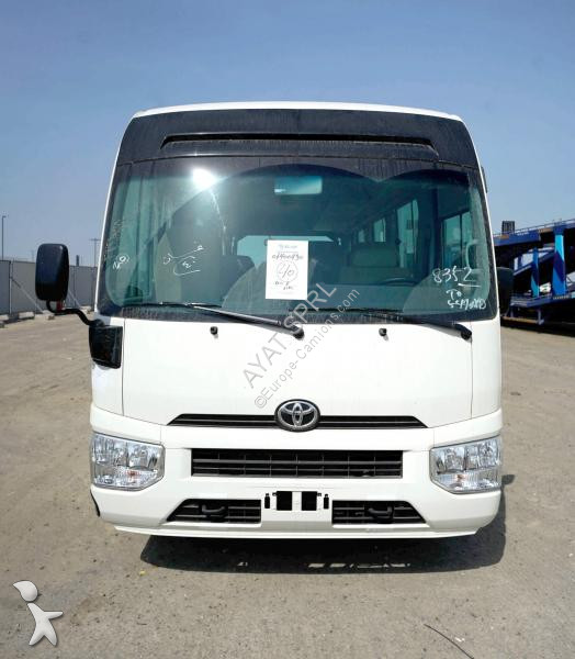 Autobus Toyota COASTER 4,2 diesel, 22 seaters HIGH ROOF 2019
