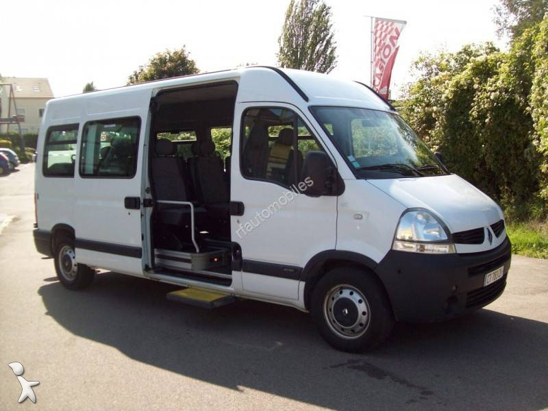 minibus renault master 2 5d 16 places gazoil euro 4 occasion n 2234778. Black Bedroom Furniture Sets. Home Design Ideas