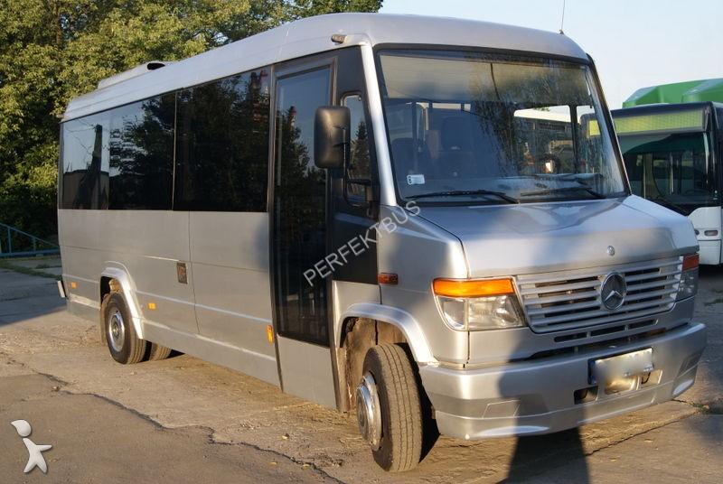 minibus mercedes vario 615 d occasion n 2334628. Black Bedroom Furniture Sets. Home Design Ideas