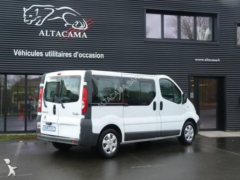 minibus renault minibus trafic 9 places 90 cv gazoil euro 5 occasion n 2460115. Black Bedroom Furniture Sets. Home Design Ideas