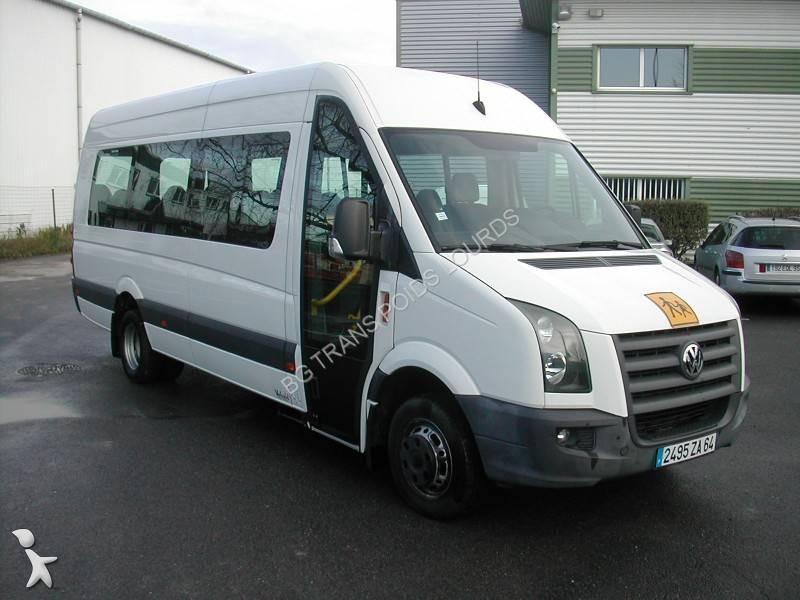 minibus volkswagen crafter gazoil euro 4 occasion n 2465323. Black Bedroom Furniture Sets. Home Design Ideas