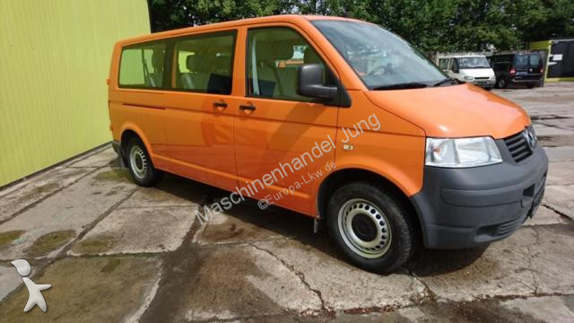 minibus volkswagen t5 transporter kombi lang gazoil occasion n 2558740. Black Bedroom Furniture Sets. Home Design Ideas